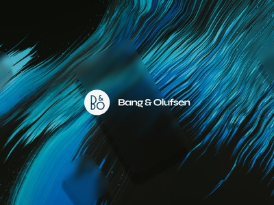 Bang & Olufsen - Rebrand nice digital clean typography branding brand logo design