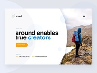 around - landingpage