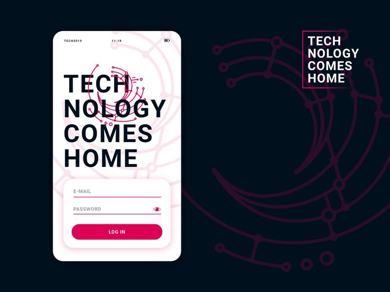 TNCH branding website interface clean typography brand ui ux logo design