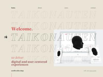 Agency Relaunch Idea ux interface clean website webdesign typography branding brand ui logo design