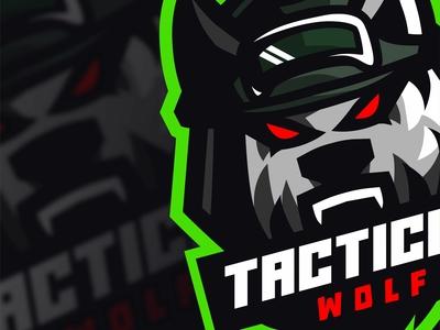 TACTICAL WOLF   Esports logo