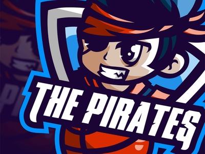 THE PIRATES   Esports logo