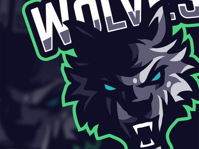 WOLVES   Esports logo