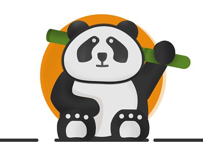 Mr.panda illustration panda japan art