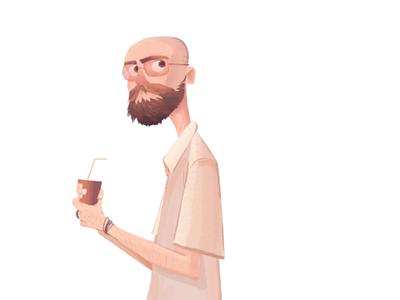 fernando character illustration design