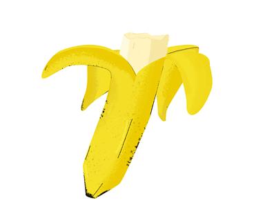 banana banana design ui ux yellow