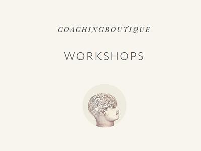 Coaching Boutique Workshops ui website header wordkshops coachingboutique minimal