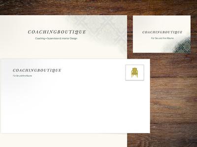 Stationery brand brand identity stamp typography print stationery business cards letterpress
