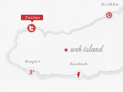 Web island