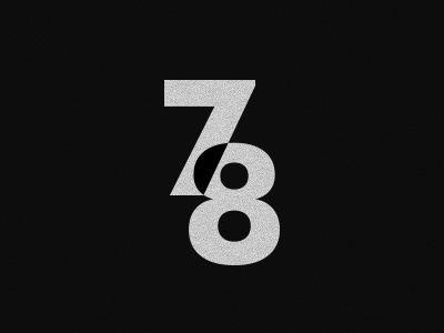 Playing with numbers minimal numbers black white texture canvas futura