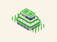 Green building detail