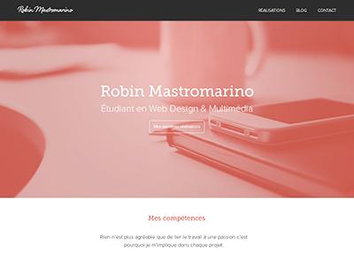 Homepage portfolio homepage website portfolio webdesign flat minimal