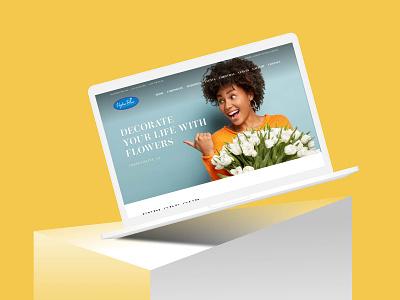 Flower store application webdesign ecommerce flowershop flower onlinestore xd ui