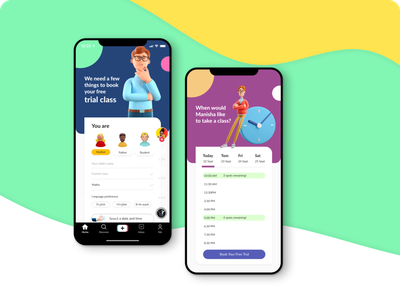 E-learning android iosapp application app mobileapp e-learning webdesign adobexd ui animation