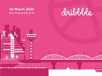 Dribbble ahmedabad meetup teaser