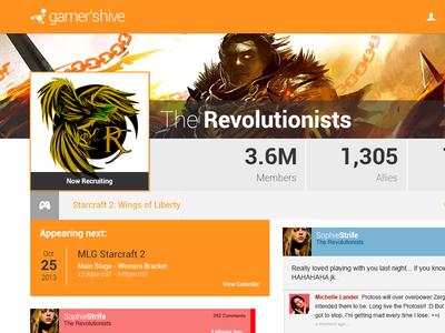 Guild Profile - Gamer's Hive