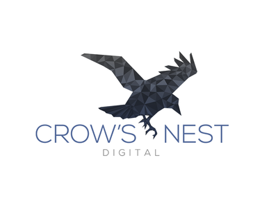 Crows Nest Digital Logo Concept