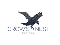 Crows Nest Digital Logo Concept