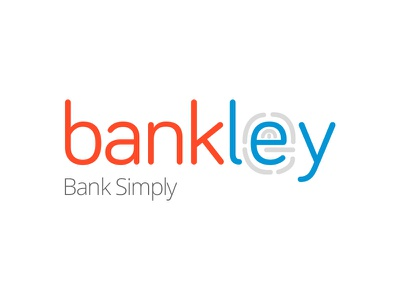 Bankley: Bank Simply concept brand logo banking