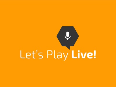 Let's Play Live~ gamers hive gaming tour tour dates poster graphic design april fools