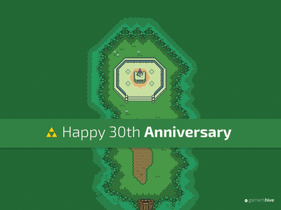 Zelda 30th Anniversary image manipulation pixel art 30th anniversary video games zelda
