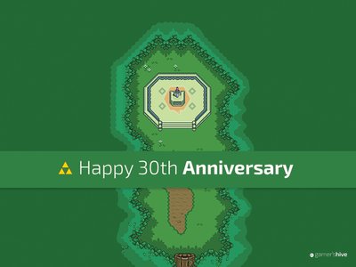 Zelda 30th Anniversary