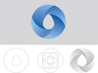 drop and circle