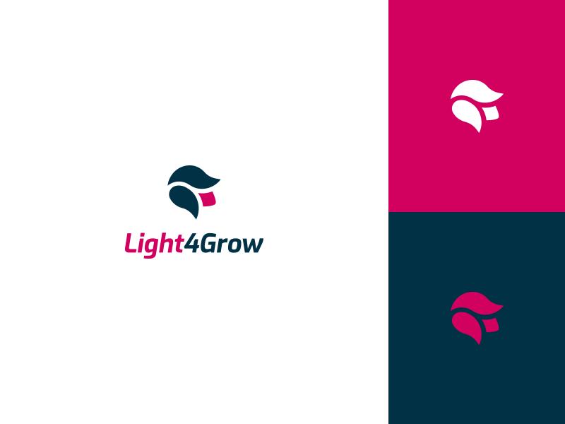 Light4grow Online Shop Logo By Tiamin On Dribbble