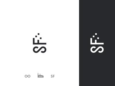 SoftwareFactory logo concept