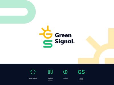 Green Signal logo concept
