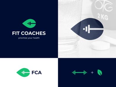 Fit Coaches logo proposal