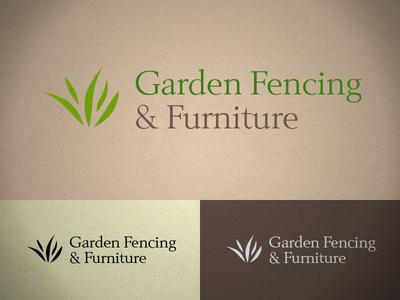 Garden Fencing and Furniture Logo