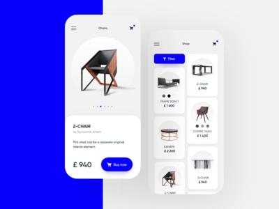 App Furniture store