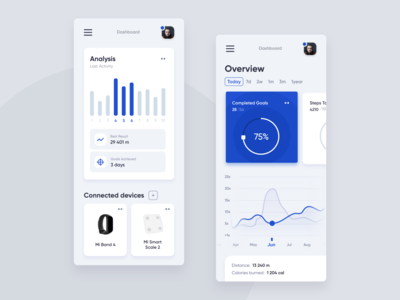 Mobile Sports Dashboard