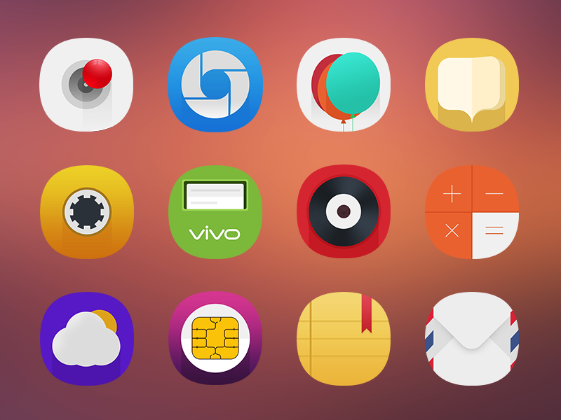 Vivo Theme Design icon by qiushi on Dribbble