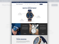 Watch Department (Website Design)