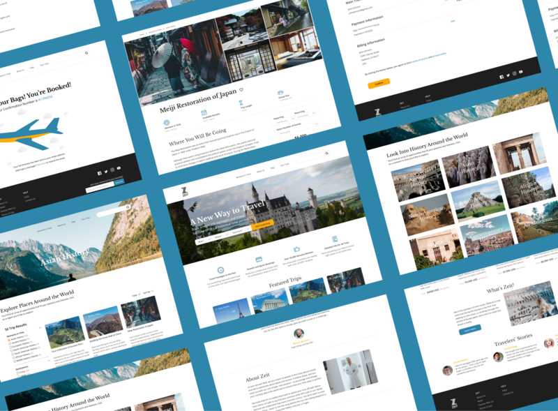 Travel Website web daily ui web design travel ux uiux landing page homepage figma desktop website uidesign design ui