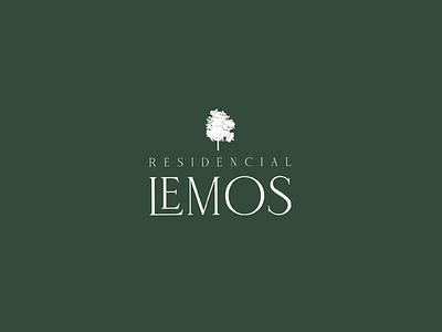 Residencial Lemos - Branding Design brand identity realstate logo branding branding design