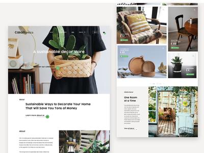 Casa Rustica, a sustainable decor store