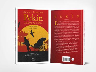 Pekin, Book Cover Design - Collage book layout design cover design