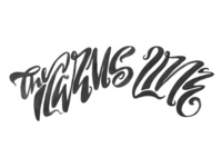 Icarus Line lettering