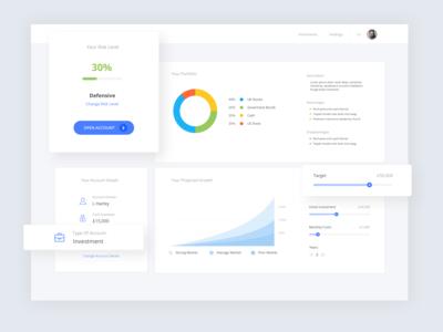 Investment Portfolio Model Web App