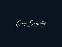 Gary Evans. Signature Logo