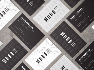 Mood Interiors - Business Cards