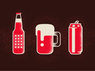 Craft Beer Festival - Icon set