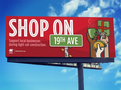 Shop On Campaign for Valley Metro