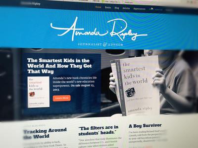 Amanda Ripley Website