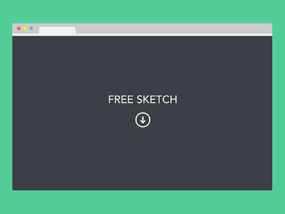 Freebie Sketch: Minimal Browser minimal browser sketch free freebie minimal flat tab chrome browsers browser