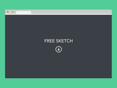 Freebie Sketch: Minimal Browser