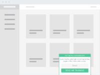 Wireframe in use bottom box